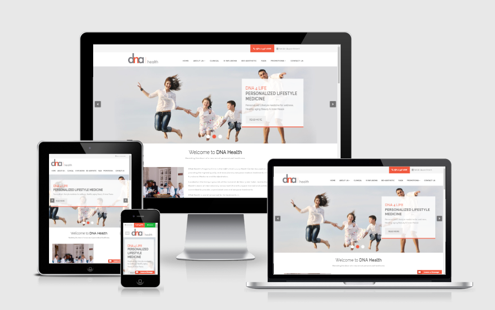 DNA Health Corporation - Laravel Web Portal