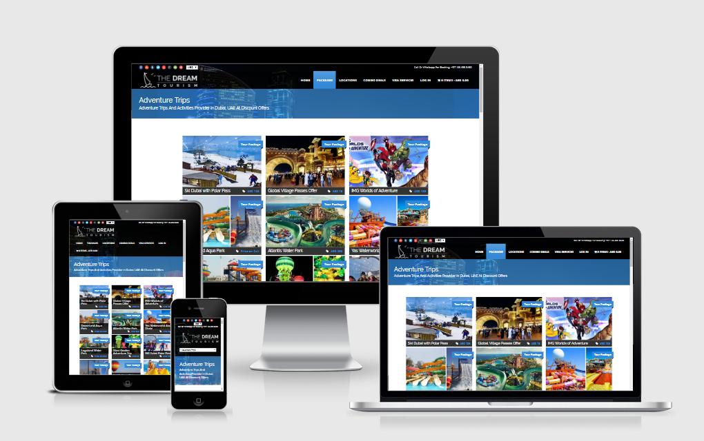 The Dream Tourism - Tourism Website Portal With Online Payment Gateway