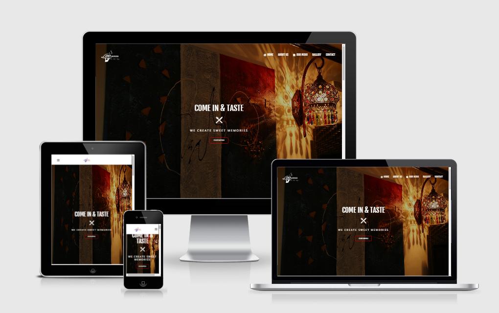 Desi Deira Restaurant - Restaurant Web Portal