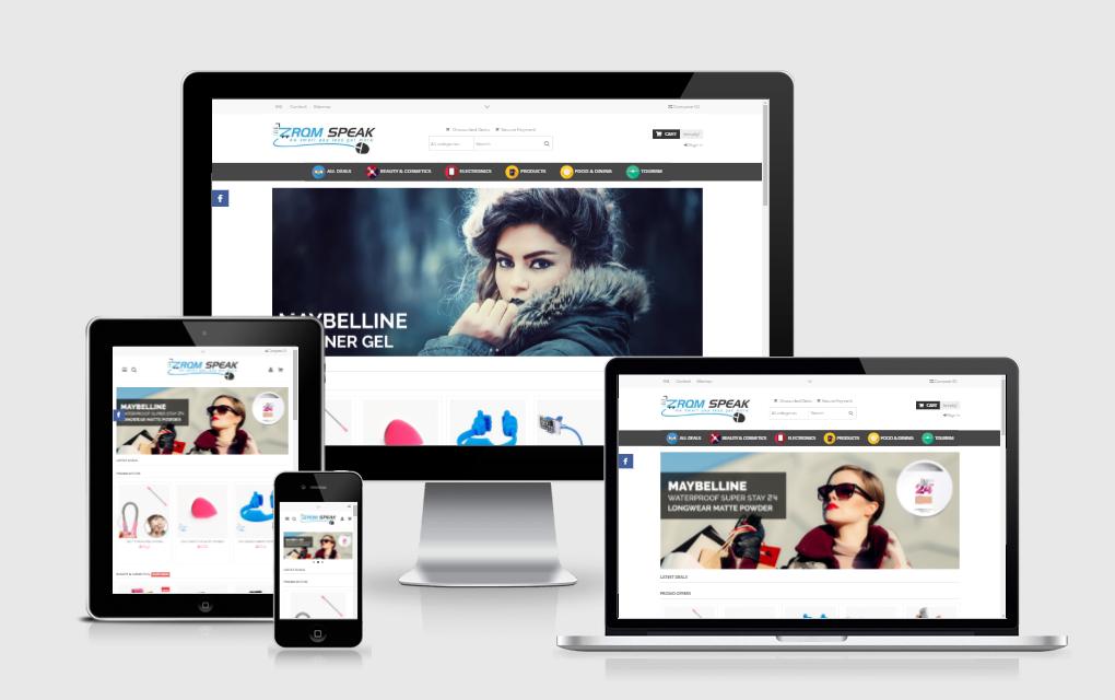 ZRQMSpeak Daily Deals Web Portal