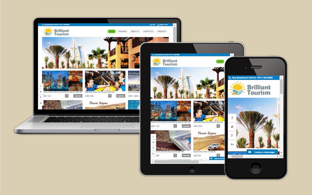 Brilliant Tourism - Tours Web Portal