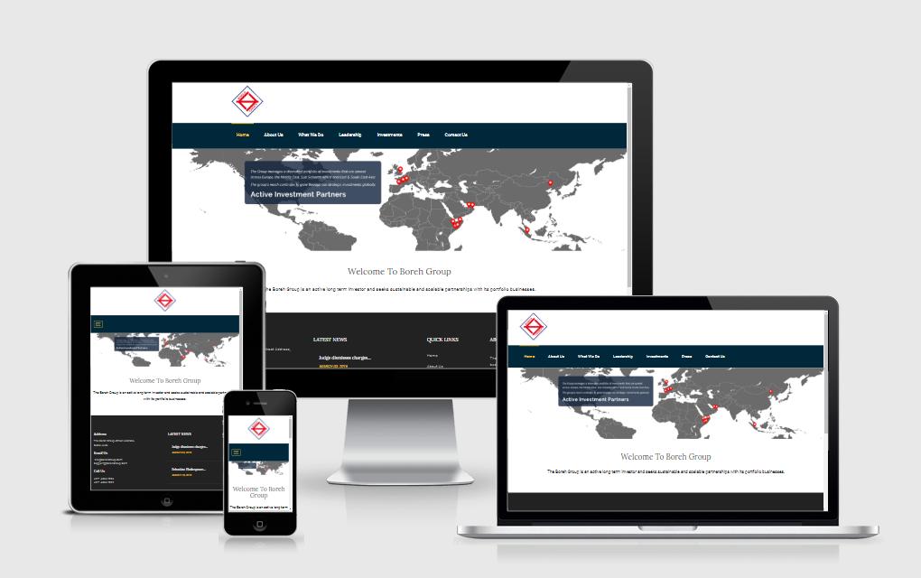 Boreh Group - Corporate Web Portal